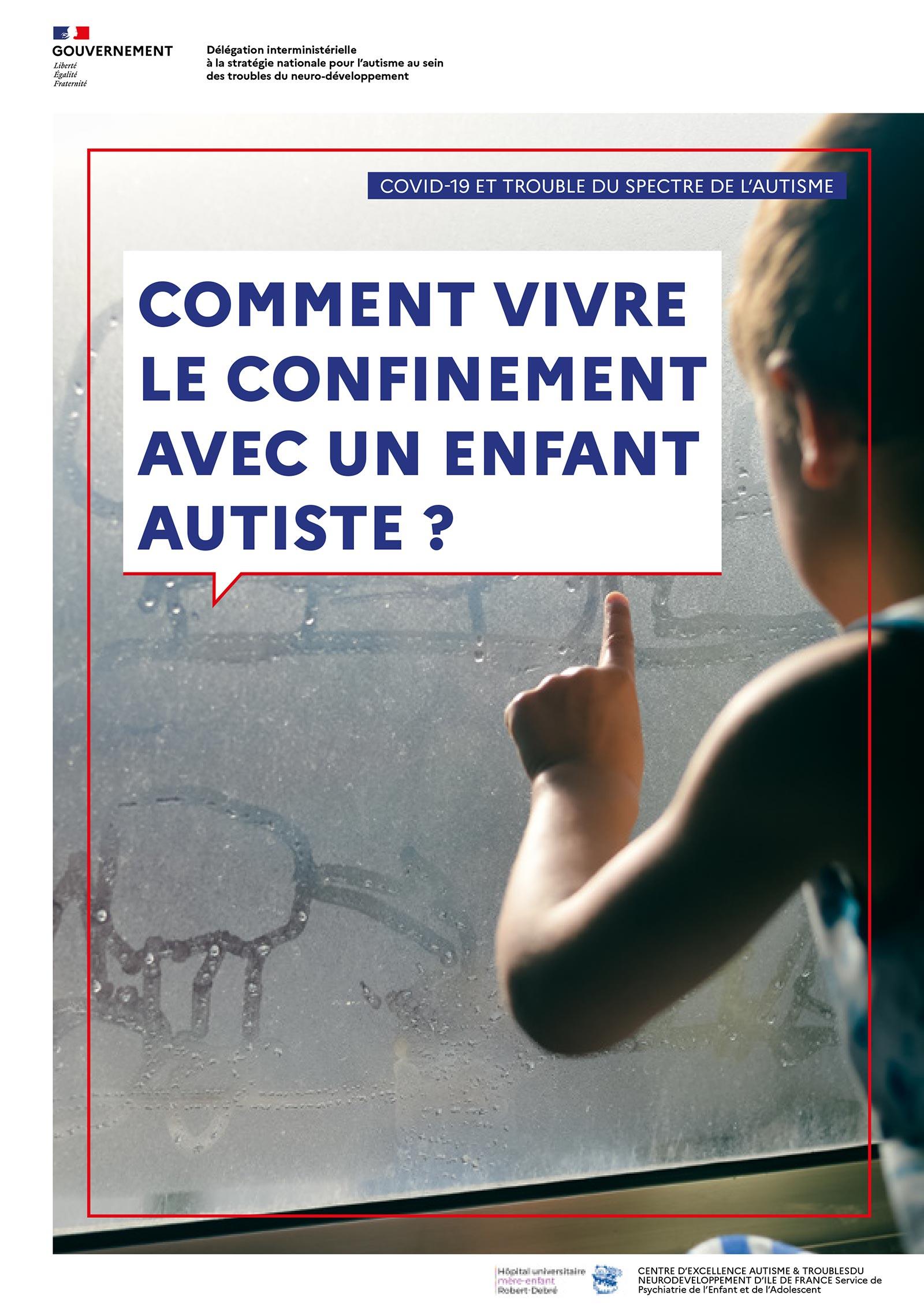 Guide vivre le confinement avec un enfant autiste