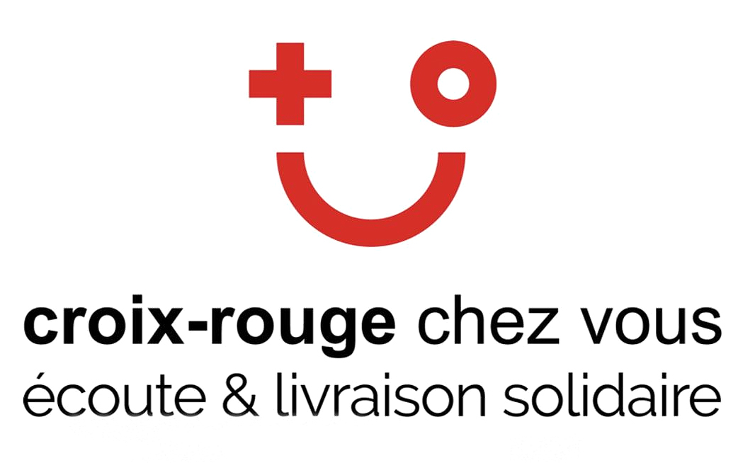 Logo Croix-Rouge écoute et livraison solidaire