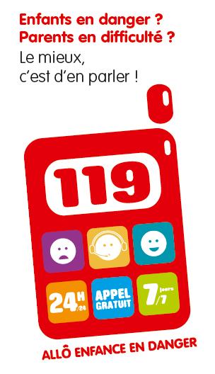 Logo enfance en danger 119