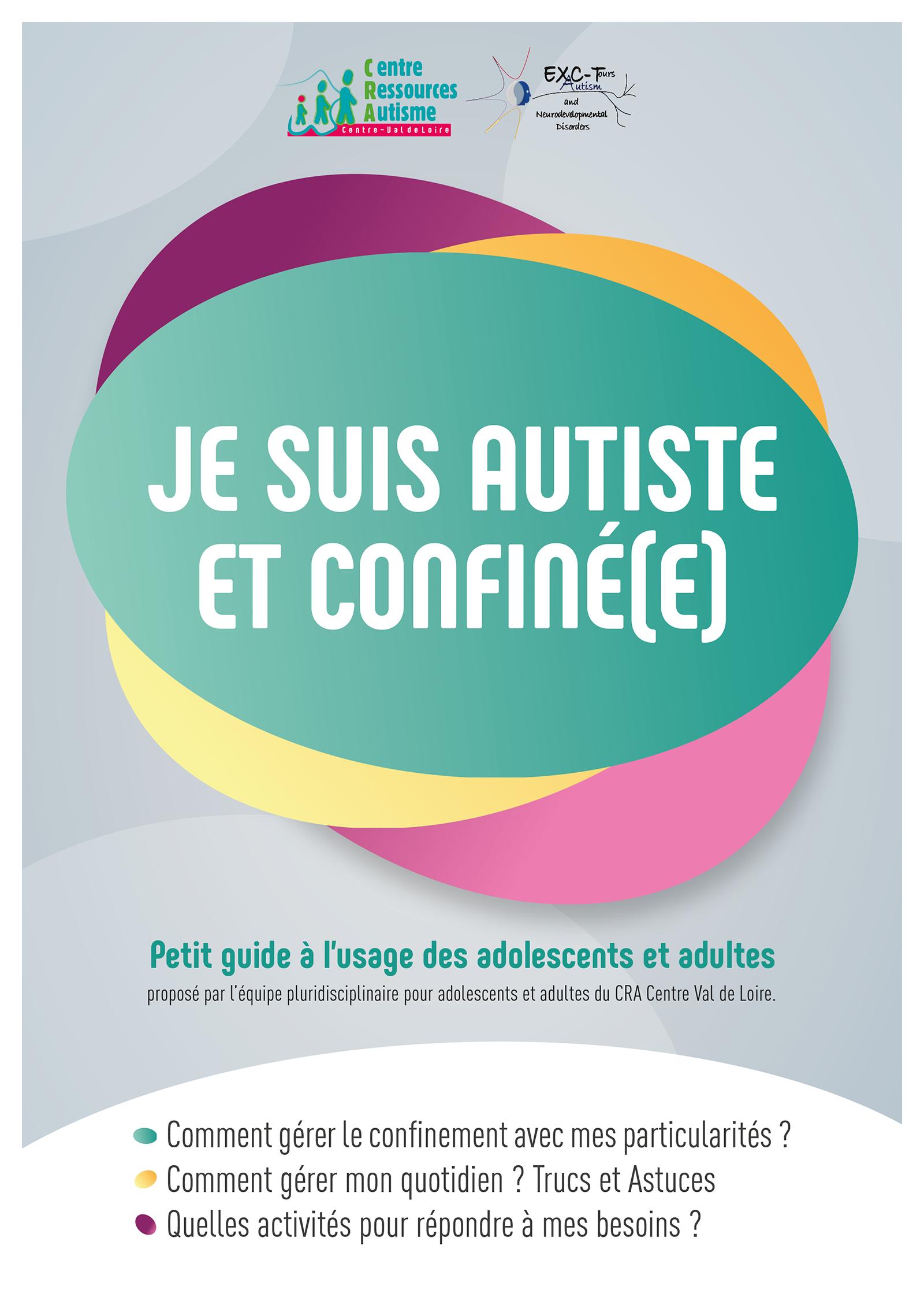 Couverture du guide Je suis autiste et confiné(e)