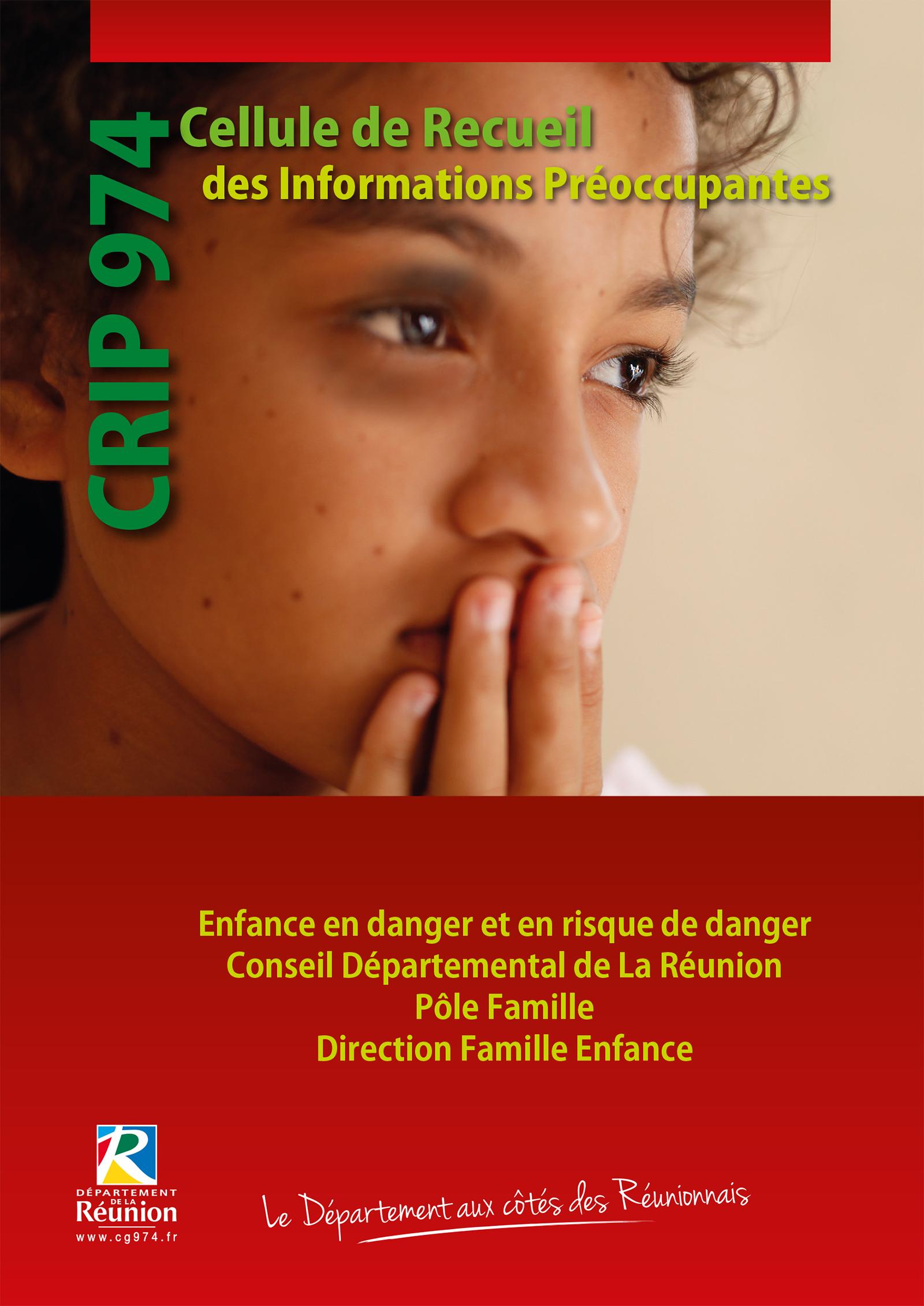 Couverture guide protection de l'enfance CRIP 974