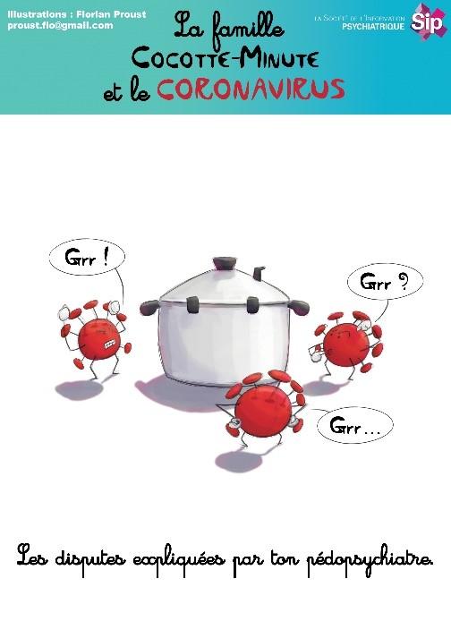 La famille cocotte minute et le coronavirus